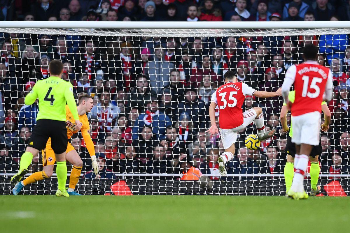 Photo of El Arsenal dominó pero no pasó del empate ante el Sheffield United (1-1)