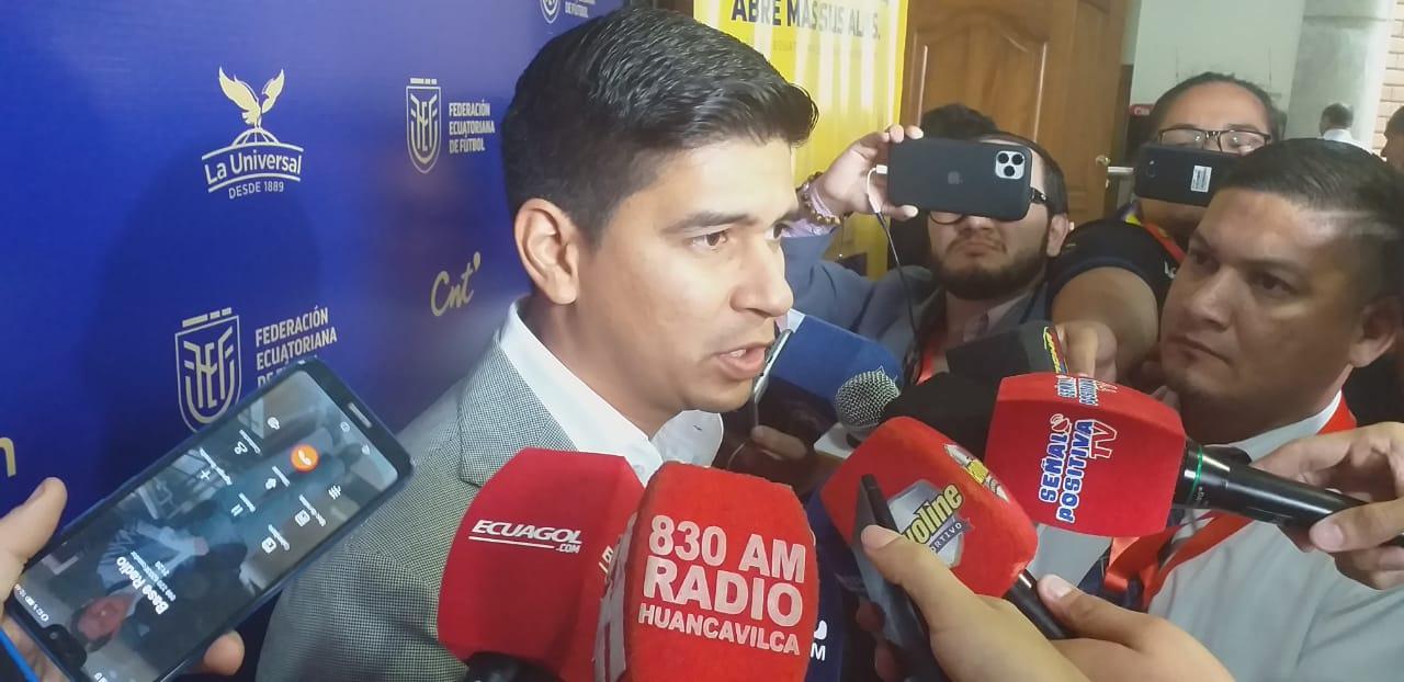 """Photo of Jaime Estrada: «Hay que definir la normativa, no se puede recibir la Serie B sin recursos"""""""
