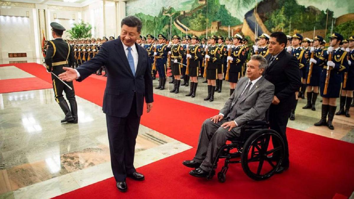 Photo of Moreno y Xi Jinping intercambiaron mensajes por los 40 años de relaciones diplomáticas entre Ecuador y China