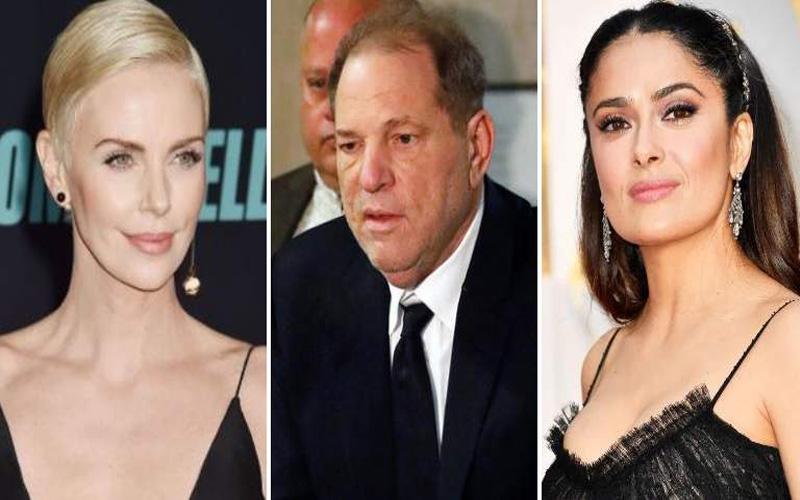 Photo of Los nombres de Salma Hayek y Charlize Theron, en el juicio contra Weinstein