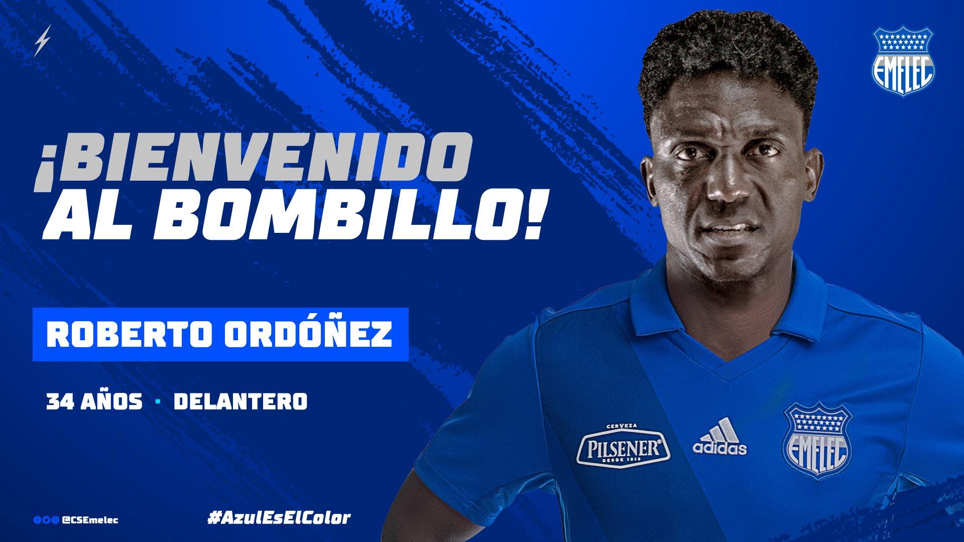 """Photo of Roberto """"La Tuka"""" Ordoñez el nuevo artillero del Club Sport Emelec"""