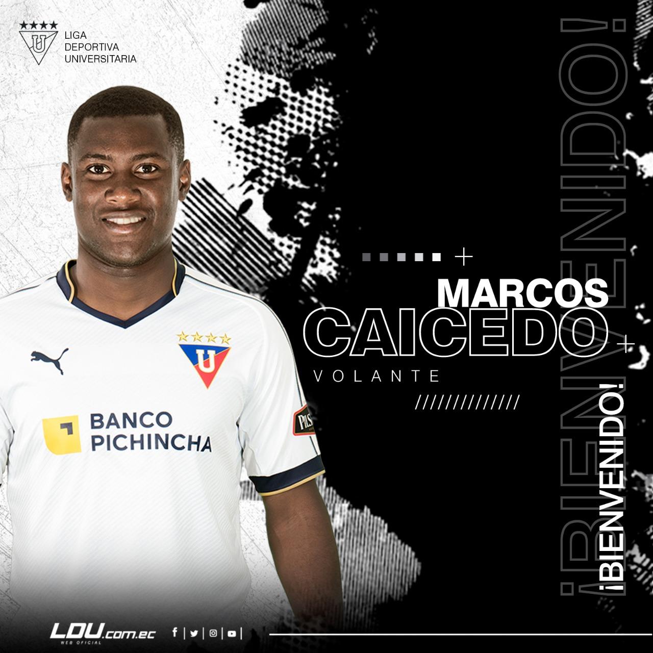 Photo of OFICIAL: Marcos Caicedo jugará en LDUQ por tres temporadas