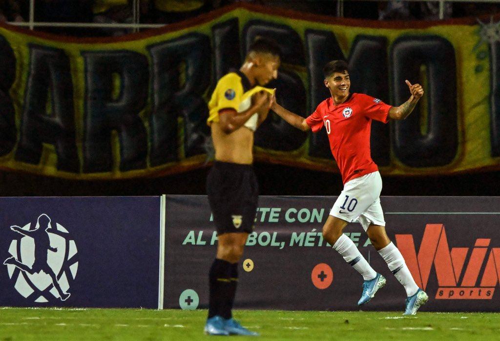 Photo of Amargo y duro Debut de la TRI en el Preolimpico: Ecuador es goleado (0 a 3) ante Chile