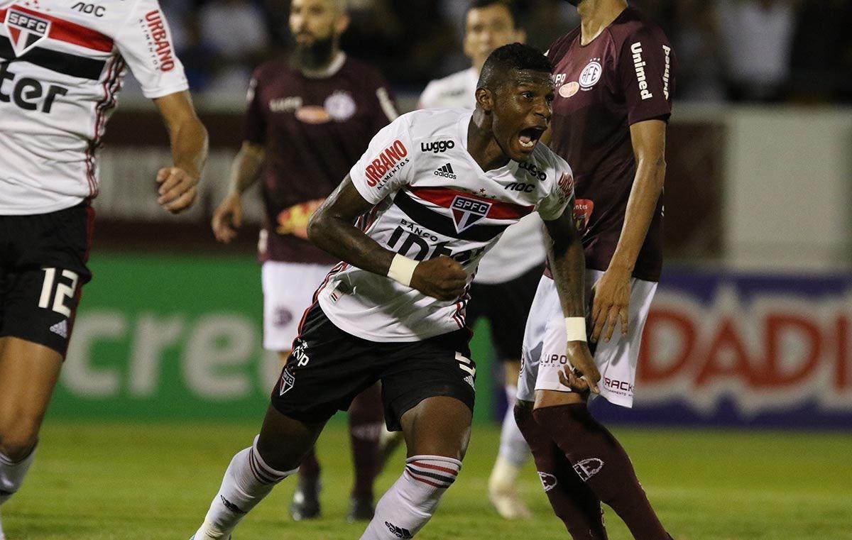 Photo of HÉROE DE LA VICTORIA!!!!!! Arboleda le dio el triunfo a Sao Paulo 2-1 a Ferroviaria en el Campeonato Paulista