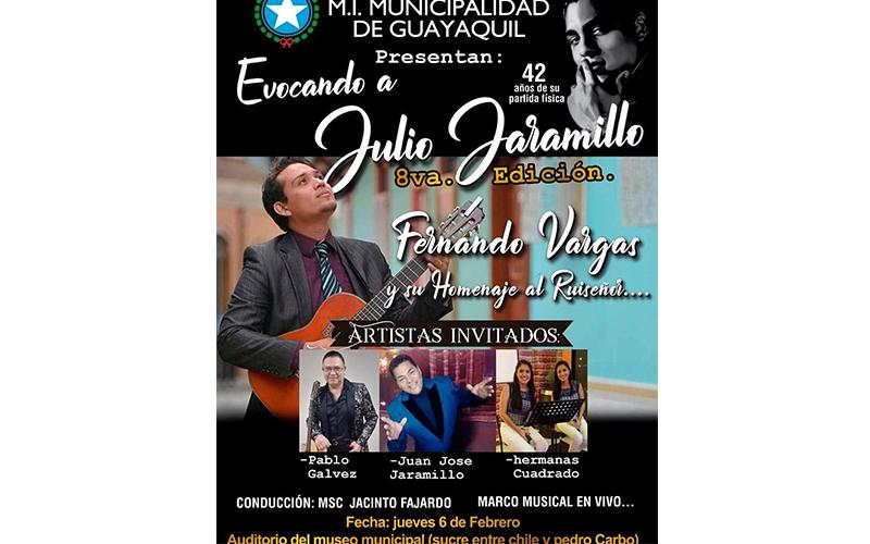 Photo of Evocando a Julio Jaramillo octava edición