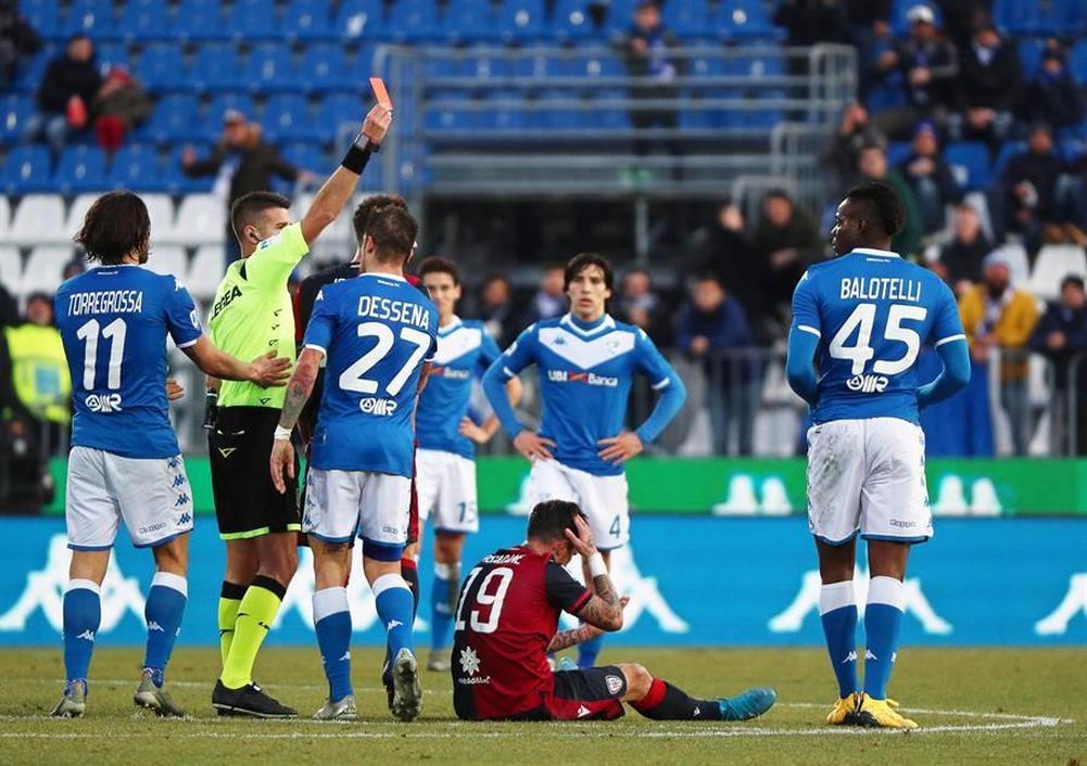 Photo of Balotelli, dos jornadas de sanción y 10.000 euros de multa por su expulsión