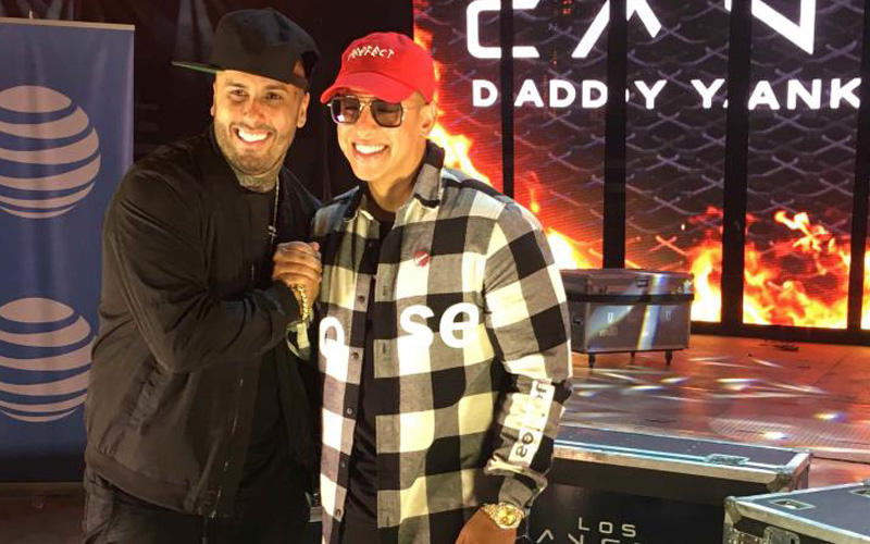 Photo of Daddy Yankee y Nicky Jam juntos como antes