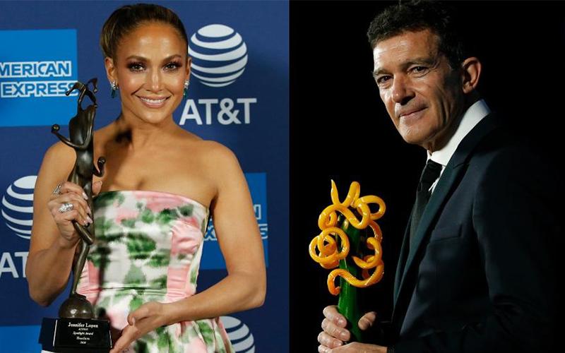 Photo of Jennifer López y Antonio Banderas, premiados en el Festival de Palm Springs