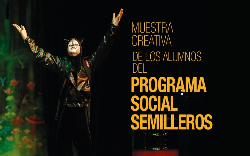 Photo of Muestra creativa de los alumnos del programa social semilleros
