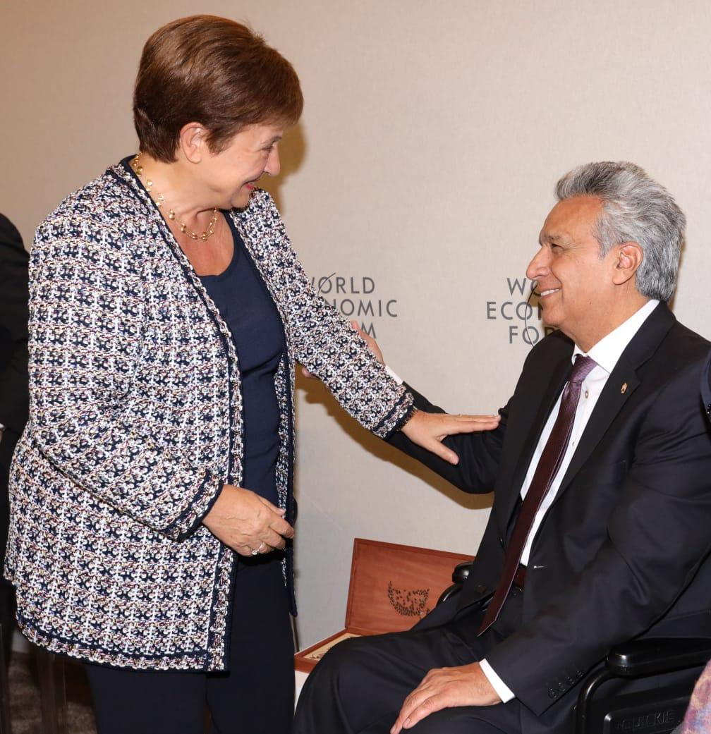 Photo of Moreno dialogó con la directora del FMI sobre los aspectos sociales del acuerdo económico