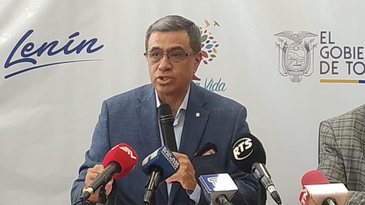 Photo of [AUDIO] Ministro José Agusto presentó equipo de apoyo para intervención de CNEL EP