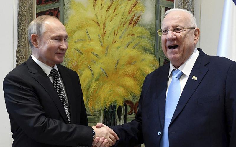 Photo of Israel: Alberto Fernández participa de una ceremonia sobre el Holocausto junto a Vladimir Putin y Emmanuel Macron