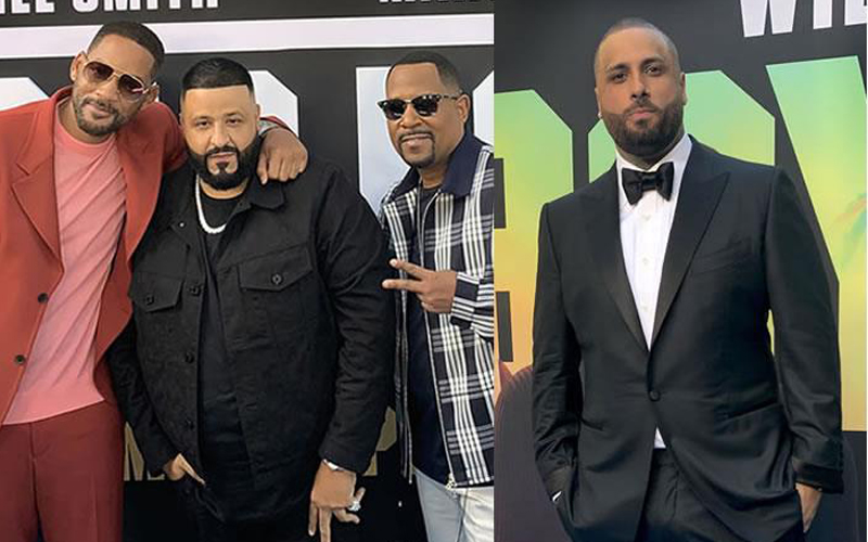 Photo of Will Smith, Martin Lawrence y Nicky Jam revolucionan Miami Beach