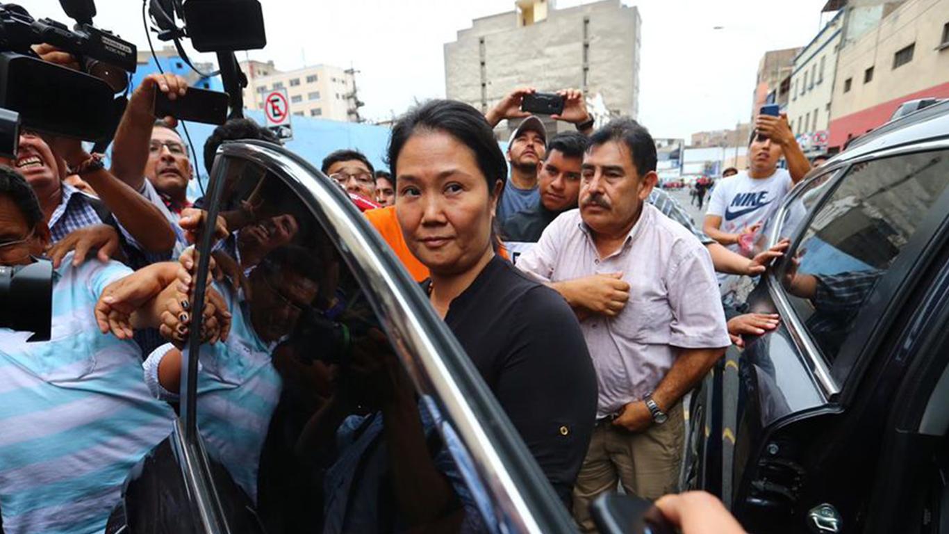 """Photo of Keiko Fujimori: """"Esto no es justicia, esto es ajusticiamiento y venganza política"""""""
