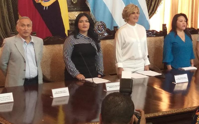 Photo of [Audio] Alcaldía de Guayaquil y Ministerio de Salud firman convenio para contrarrestar enfermedades epidemiológicas causada por vectores
