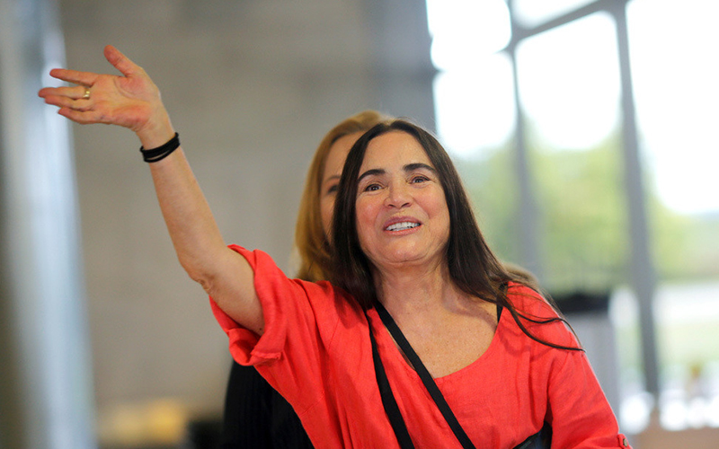 Photo of La actriz brasileña de telenovela Regina Duarte, nueva secretaria de Cultura en el Gobierno de Bolsonaro