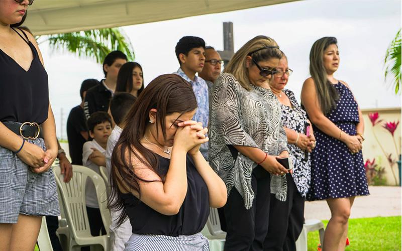 """Photo of En Parque De La Paz Camposanto Durán  se conmemoró Aniversario de fallecimiento de """"Sharon La Hechicera"""""""