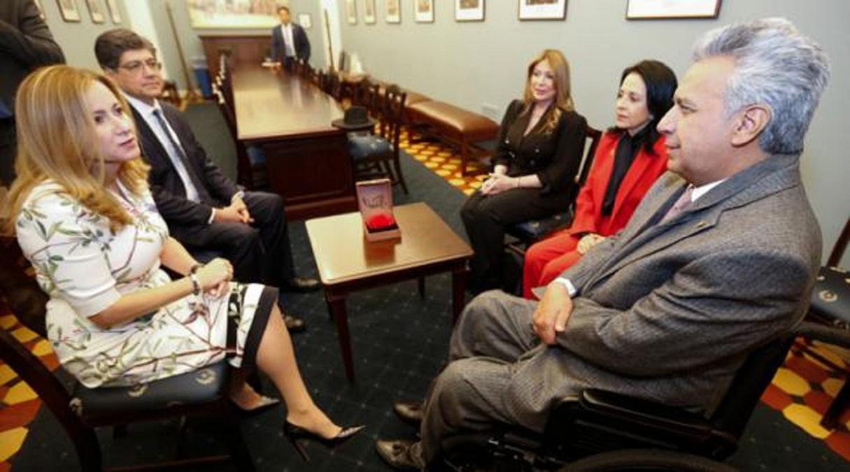 Photo of Ecuador busca apoyo del Senado para lograr tratado