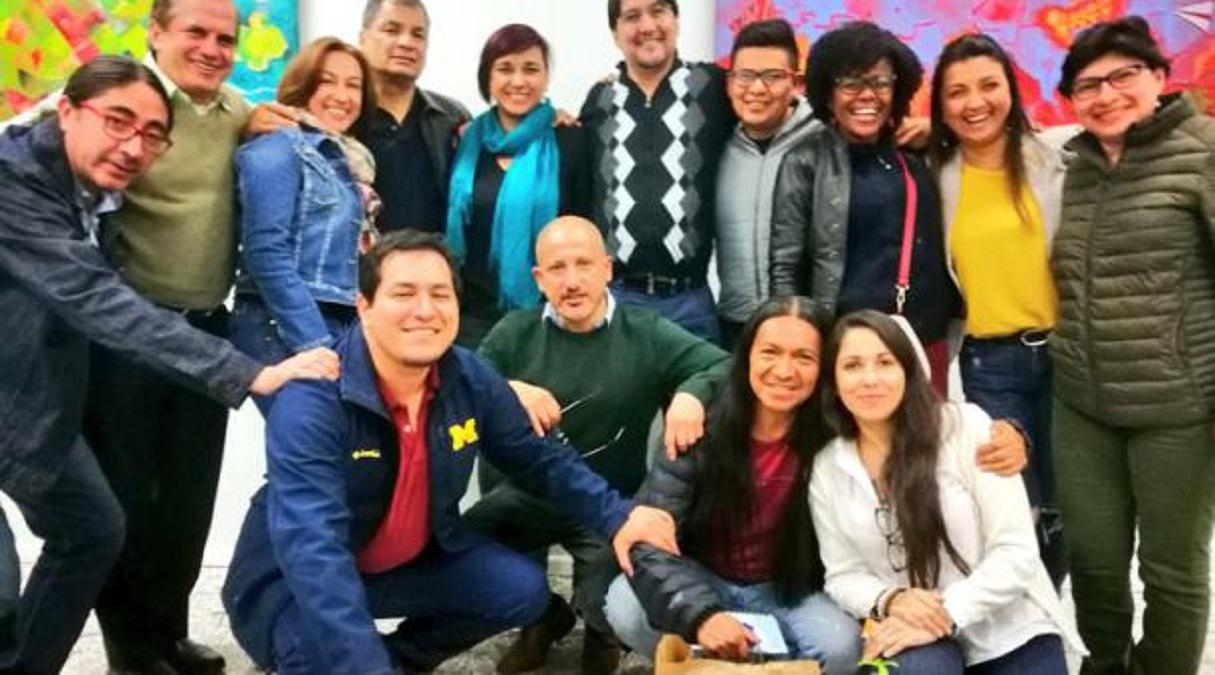 Photo of Entre el asilo político y procesos judiciales, cúpula del correísmo se reúne en México