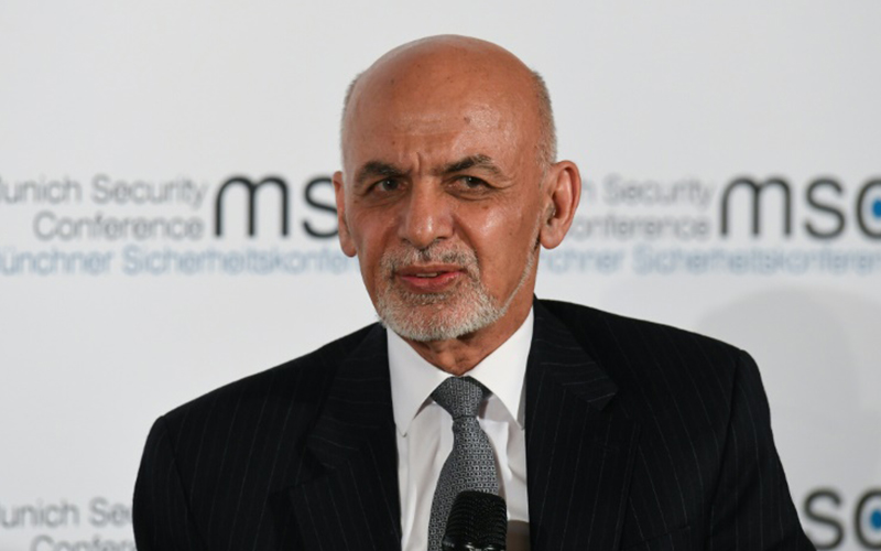 Photo of Ashraf Ghani, reelecto presidente en Afganistán