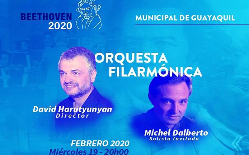Photo of La Orquesta Filarmónica Municipal rinde homenaje a los 250 años del natalicio de Beethoven