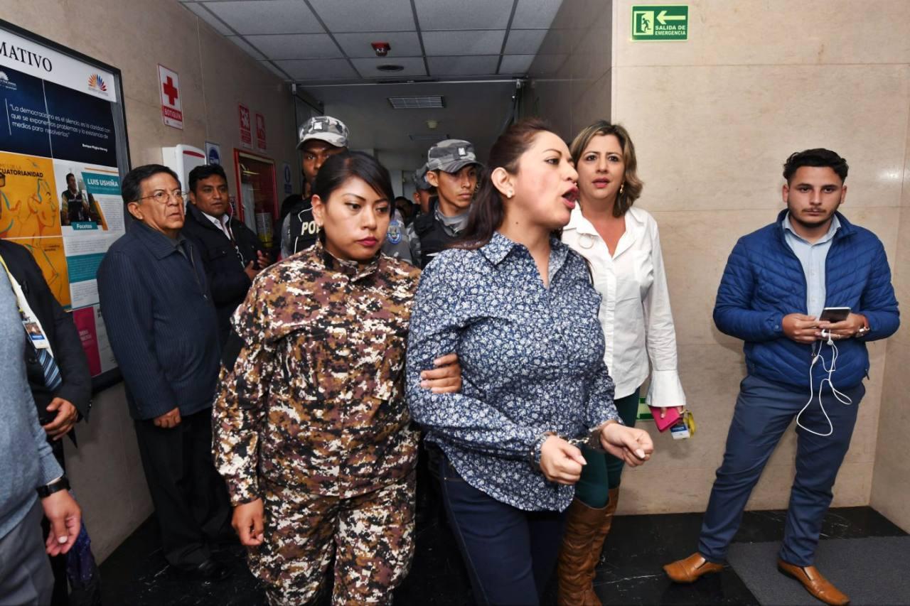 Photo of Fiscal cierra instrucción por caso de rebelión que involucra a Paola Pabón