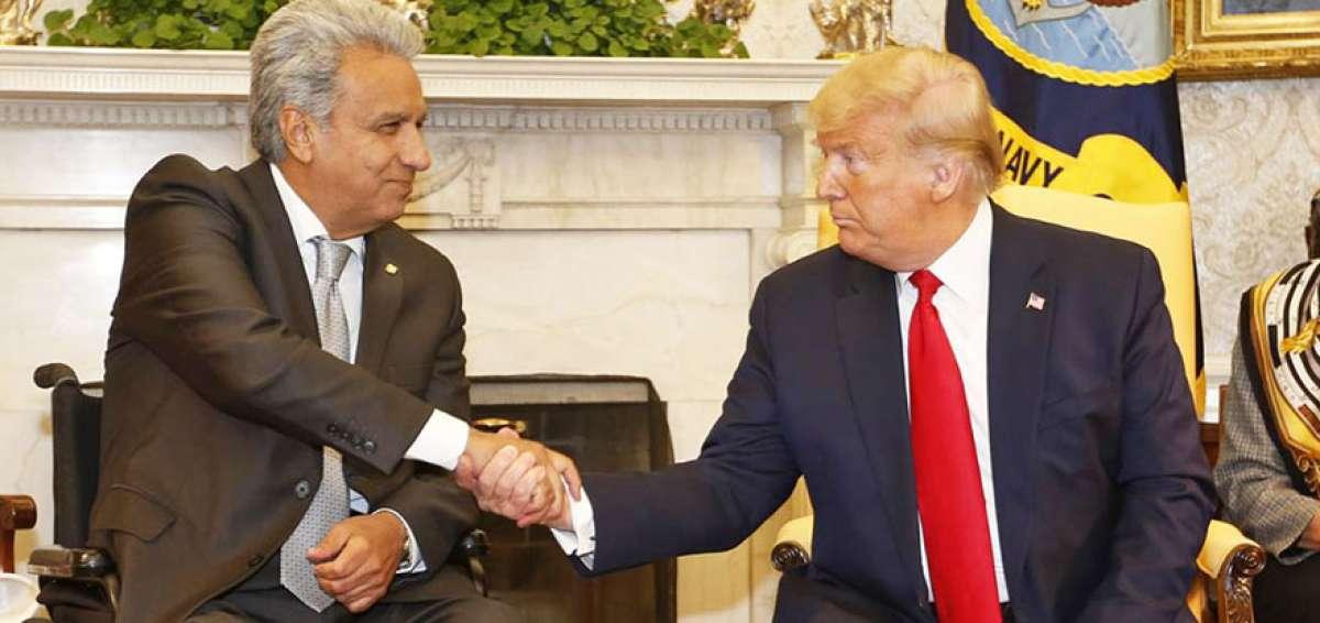 Photo of Donald Trump reconoce el ejemplo democrático de Ecuador en la región