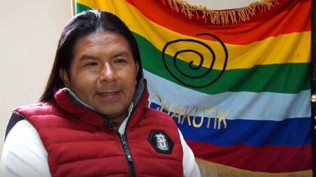 Photo of Marlon Santi: 'Aquí solo hay un Estado que se llama Ecuador'