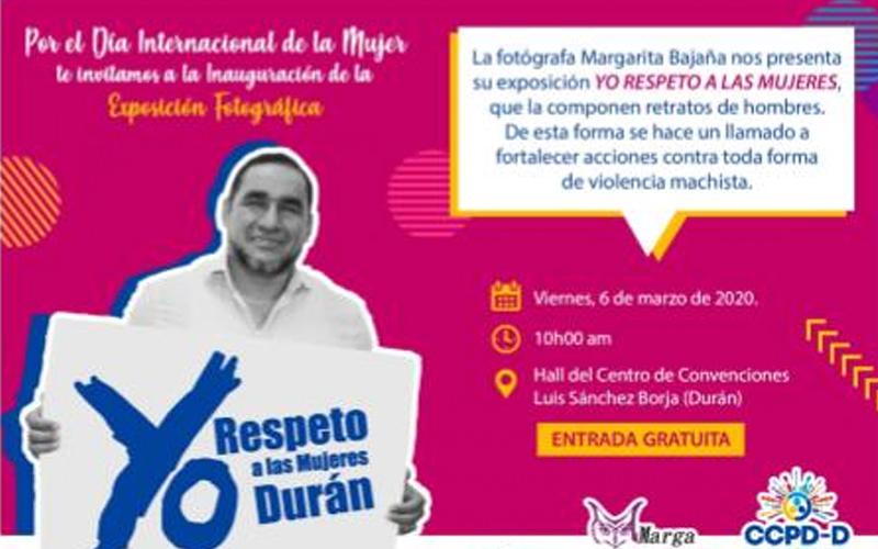 Photo of Exposición fotográfica «Yo respeto a las mujeres»