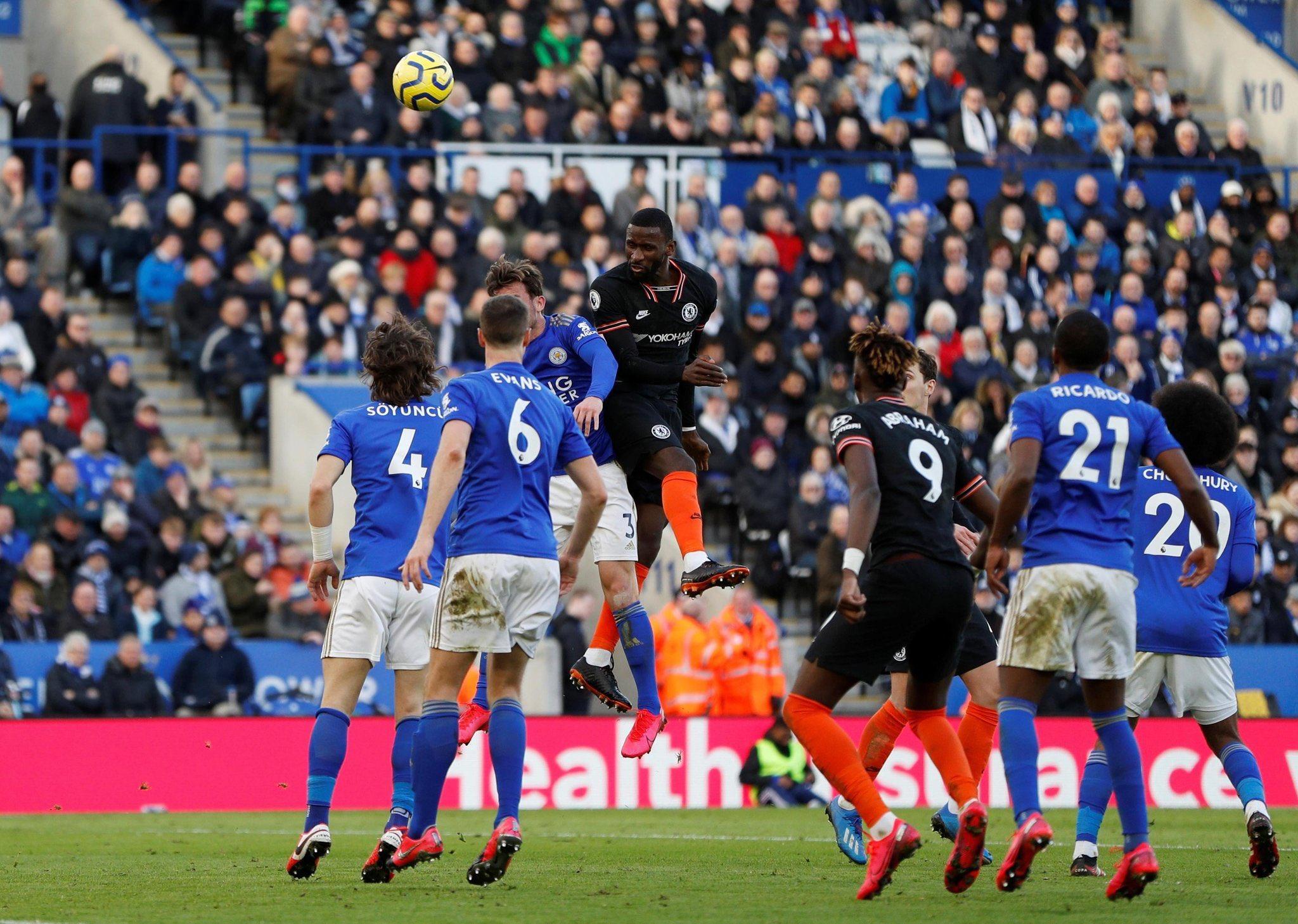 Photo of División de puntos entre el Leicester y el Chelsea en la Premier, El marcador final fue de 2-2