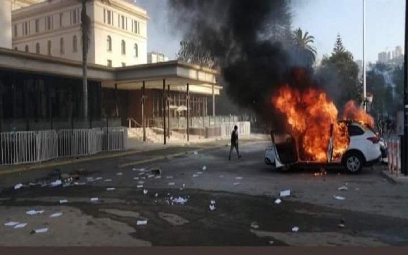 Photo of Se producen incidentes cerca de la Quinta Vergara en la previa del arranque del Festival de Viña