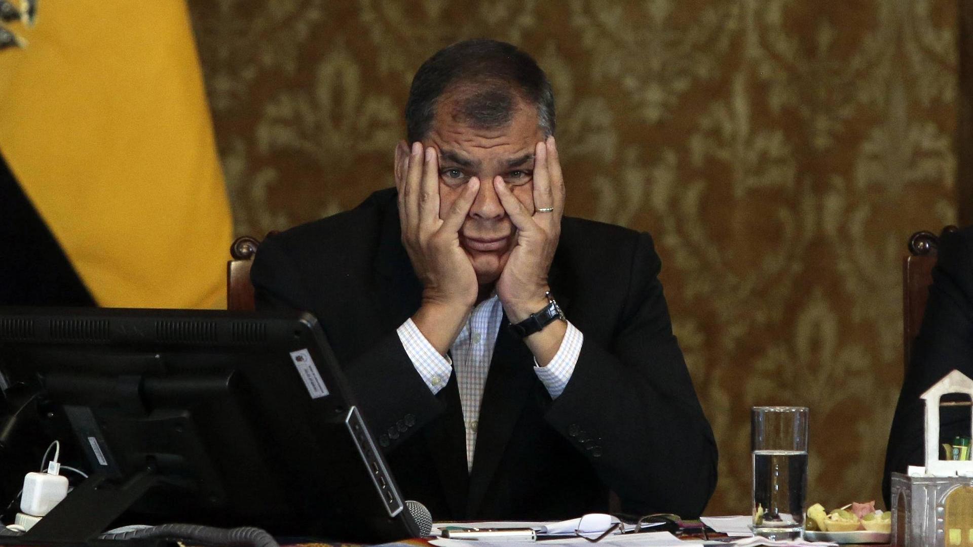 Photo of Correa: Están desesperados para evitar mi participación en las elecciones
