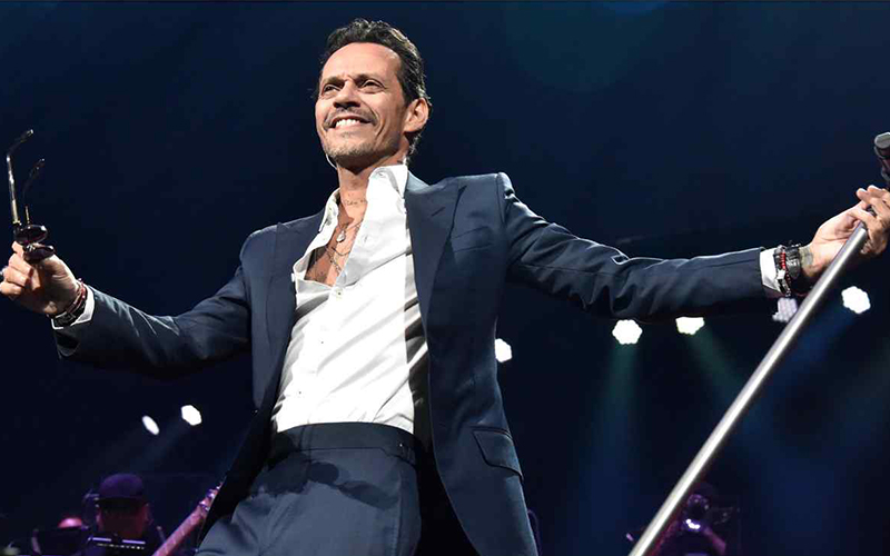 Photo of El gigante de la música Marc Anthony ofrece en Nueva York un recital de salsa