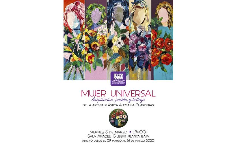 Photo of Inauguración de la muestra artística «Mujer Universal» en la Casa de la Cultura