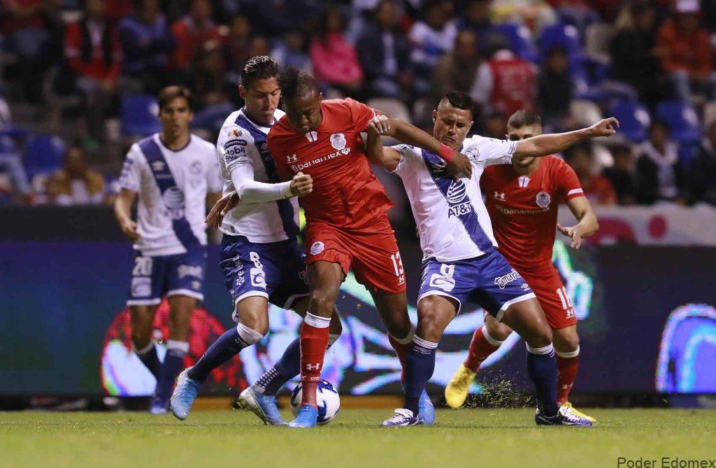 Photo of 2-0. El Puebla vence al Toluca con goles de Zaldívar y el uruguayo Tabó
