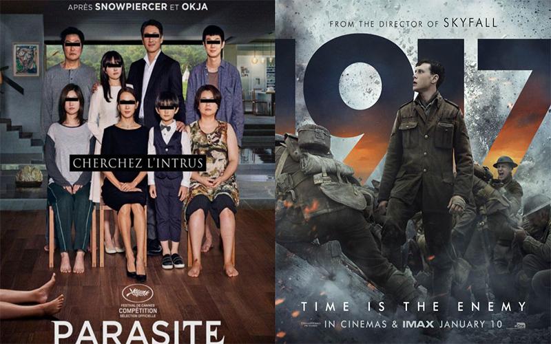 Photo of «1917» y «Parasite», dos inesperadas favoritas al Óscar a mejor película