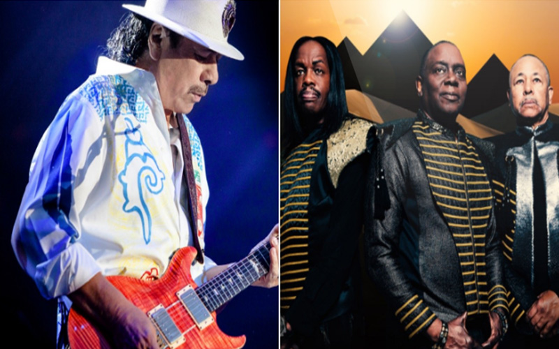 Photo of Carlos Santana y Earth, Wind & Fire anuncian un «Supernatural Tour»