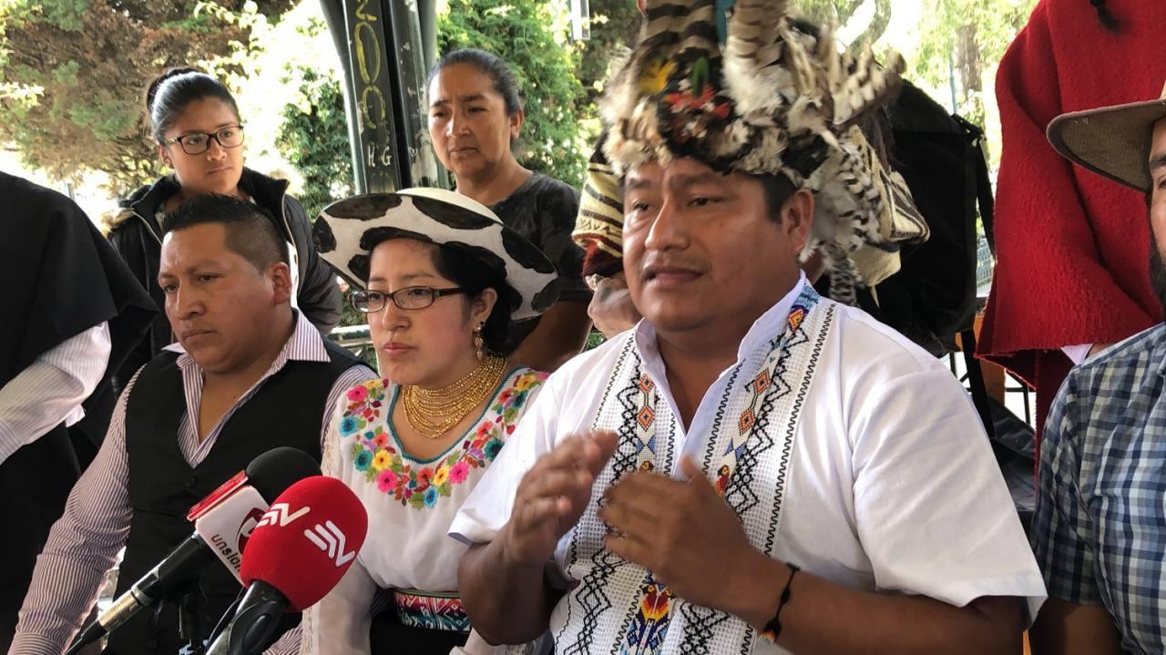 Photo of Jaime Vargas se autocalifica como segundo presidente de Ecuador