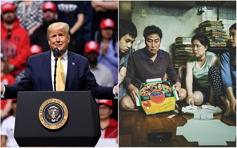 Photo of Trump critica a Brad Pitt, los Óscar y a «Parasite» por ser una cinta coreana