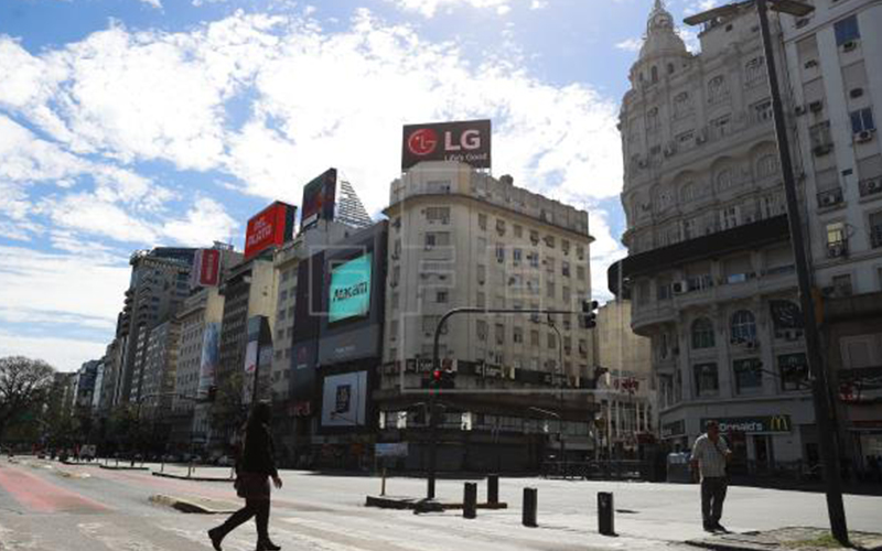Photo of Actividad económica argentina cayó 2,1% en 2019, último año de Gobierno Macri