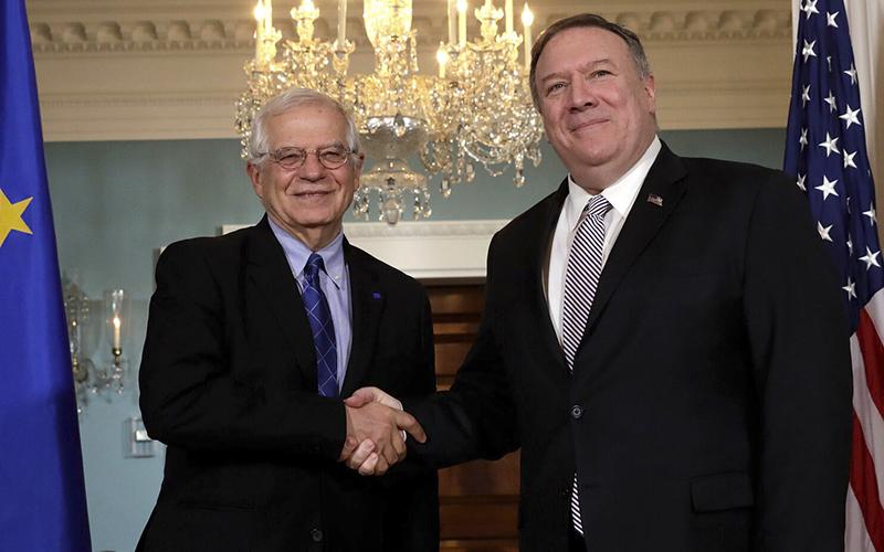 Photo of Borrell se reúne por primera vez con Pompeo como jefe de la diplomacia de UE