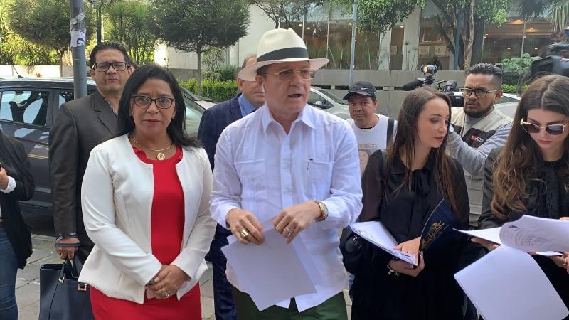 Photo of Asambleístas denuncian por fraude procesal a legislador Fabricio Villamar