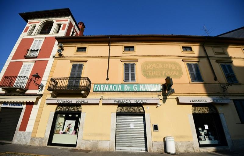 Photo of Dos muertos por el nuevo coronavirus en Italia, donde hay varias ciudades aisladas