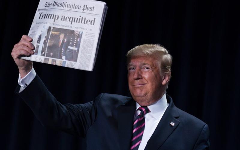 Photo of Trump denuncia la «perversidad» de sus oponentes demócratas