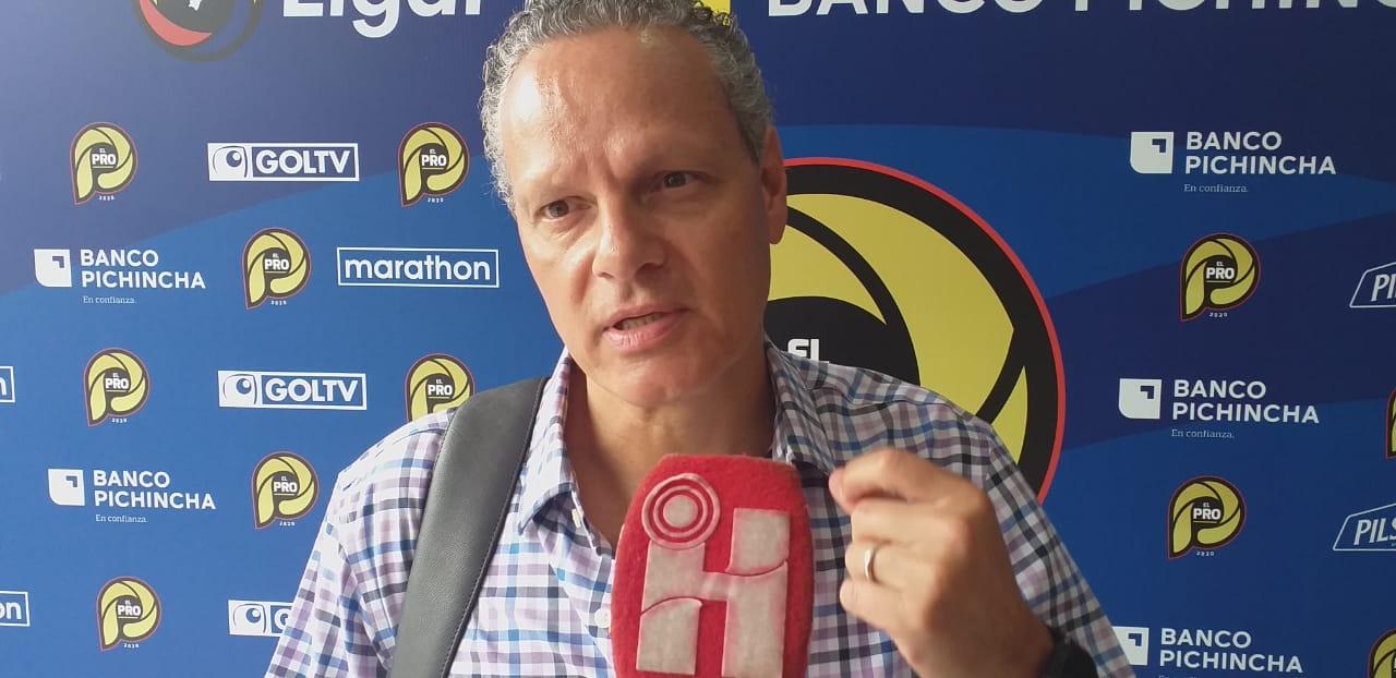 Photo of Esteban Paz confirma mala relación con el Presidente de LDUQ: «Cree que  las cosas llegan fácil»
