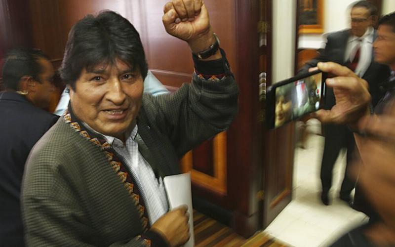 Photo of Morales propone un acuerdo político para garantizar que las elecciones transcurren en un «ambiente de paz»