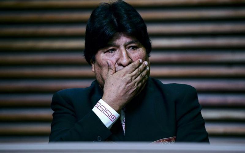 Photo of Fiscalía de Bolivia atribuye a Morales la voz de la grabación en la que se ordena cercar ciudades