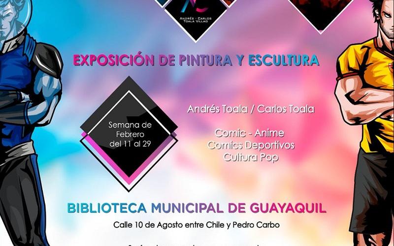 Photo of Exposición de pintura y escultura en la Biblioteca Municipal de Guayaquil