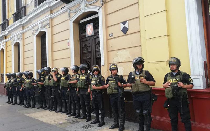 Photo of Fiscalía de Perú allana por segunda vez local partidario de Keiko Fujimori