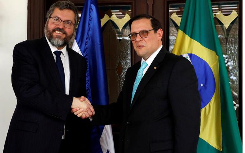 Photo of Honduras y Brasil retoman agenda bilateral y buscan acuerdo comercial